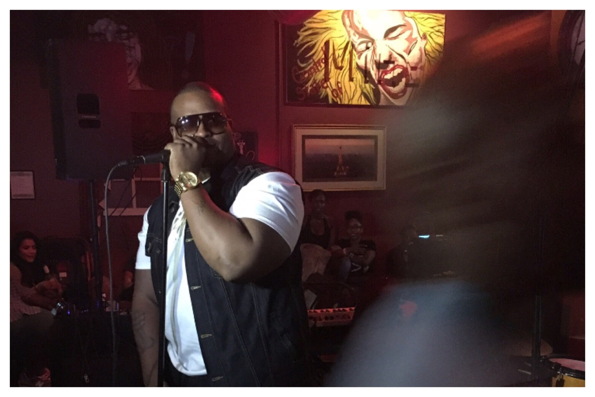 Ricco Barrino's live performance (Soulful Sunday's)