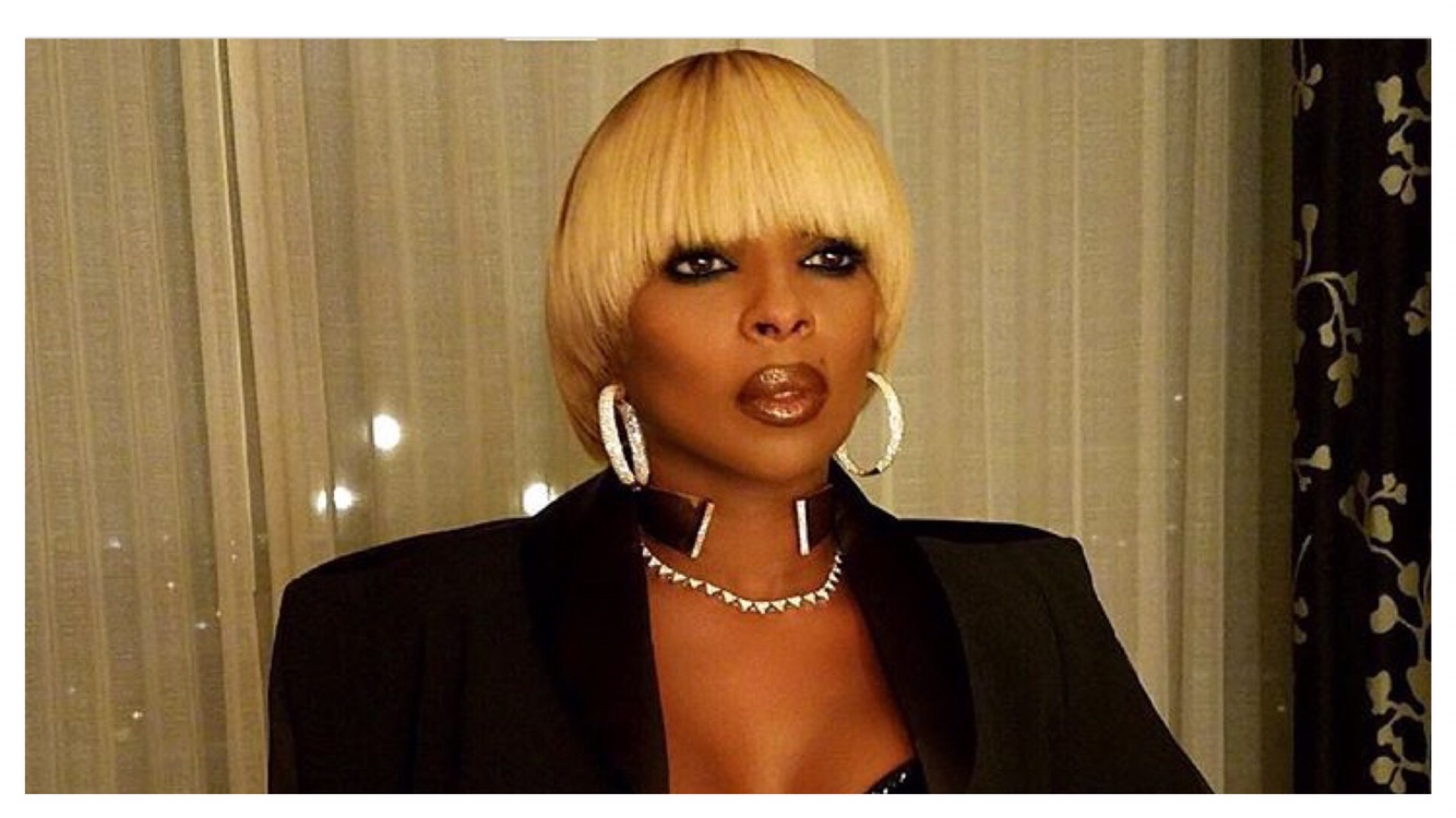 Mary J  Blige Is Releasing A New Album, Guess Who Is On The Feature List